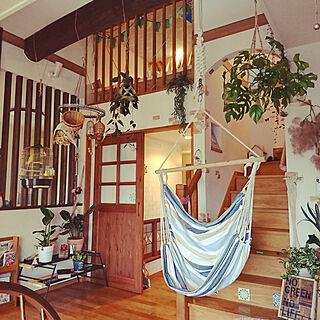 女性35歳の家族暮らし、二階階段に関するakiさんの実例写真
