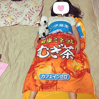 接触冷感/ひんやり寝袋/ベッド周りのインテリア実例 - 2020-09-14 13:14:42