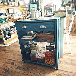 女性同棲、Kitchen DIYに関するkikocchi355さんの実例写真
