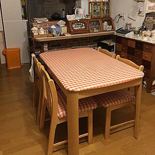 女性43歳の家族暮らし、食卓の椅子に関する505012121616ahさんの実例写真