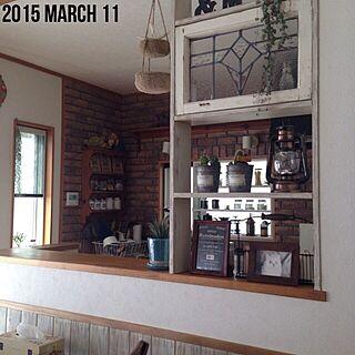 しゃれとんしゃあ会/RC湘南LOVE♡/板壁/Noth6 Antiques/Kitchenシェルフ...などのインテリア実例 - 2015-03-11 10:04:24