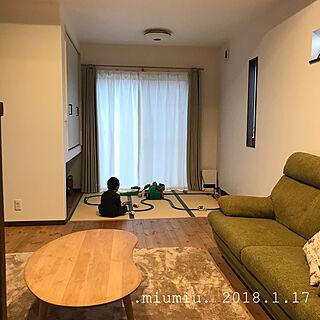 女性家族暮らし3LDK、たたみに関する.miumiu.さんの実例写真