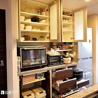 キッチン雑貨/食器棚/食器/御影石/キッチン家電...などのインテリア実例 - 2021-02-01 14:49:19