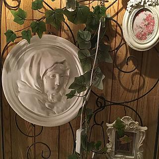 女性家族暮らし2LDK、マリア像に関するkonakonaFrenchさんの実例写真