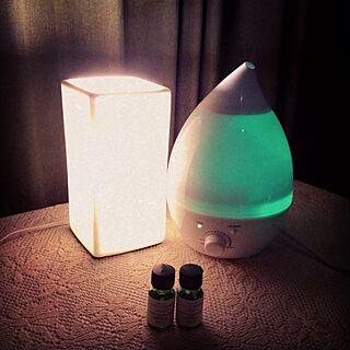 ベッド周り/aroma/lights/relax timeのインテリア実例 - 2013-11-11 21:16:54