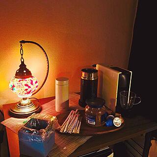 コーヒーのある暮らし/トルコランプ/カフェスペース/コーヒー/マグボトル...などのインテリア実例 - 2020-01-22 12:58:13
