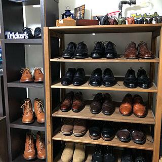 靴収納/SCOTCH GRAIN/クレム1925/Tricker's/RED WING...などのインテリア実例 - 2020-04-24 12:59:58