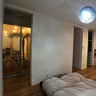 寝室/ヤシの木/アウトドアリビング/中庭のある家/観葉植物のある暮らし...などのインテリア実例 - 2020-01-19 19:26:40