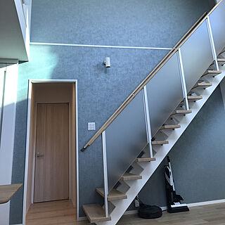 家族暮らし4LDK、階段2に関するtea.さんの実例写真
