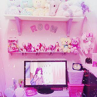 机/pink room/CareBears/princess room/kawaii...などのインテリア実例 - 2016-09-30 15:55:40