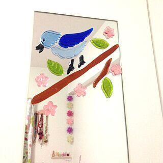 女性24歳の一人暮らし1K、ラブリーな部屋に関するArisamaさんの実例写真