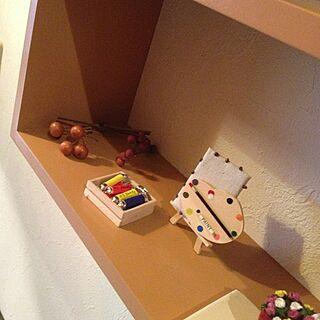 女性55歳の家族暮らし、絵の具セット?に関するkatsuwoさんの実例写真