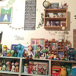 部屋全体/おもちゃ/アメリカン/ごちゃごちゃ/おもいっきりカラフル...などのインテリア実例 - 2015-01-25 09:25:32