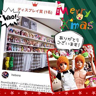 棚/ドール/人形/ドール棚/DIY...などのインテリア実例 - 2014-12-25 14:42:44