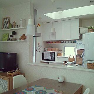 キッチン/マリメッコ/無印良品/飾り棚/IKEA...などのインテリア実例 - 2014-06-26 09:38:29