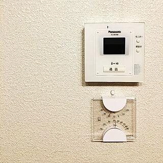 女性29歳の一人暮らし1LDK、温度計、湿度計に関するkor-kさんの実例写真