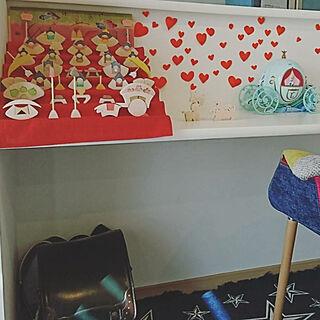 木のおもちゃ/雛人形/七段飾り/組み木/新築...などのインテリア実例 - 2018-02-04 13:45:25