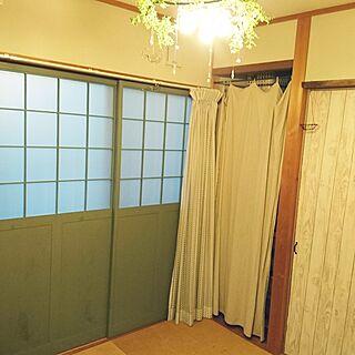 女性44歳の家族暮らし4LDK、和室を洋室にリメイクに関するswrさんの実例写真