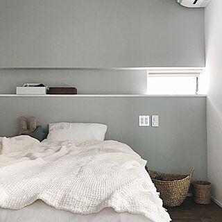 女性28歳の、無印 ベッド ベッドをソファにに関するaya__aya___さんの実例写真
