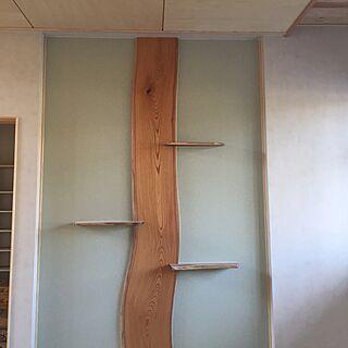壁/天井/ケヤキ/木の家/無垢板/北欧ミックスのインテリア実例 - 2016-03-01 22:46:42