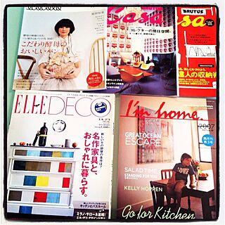 インテリア参考書/本・雑誌のインテリア実例 - 2012-05-26 09:07:24