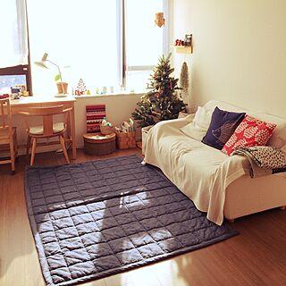 3LDK、家族住まいの「部屋全体」についてのインテリア実例