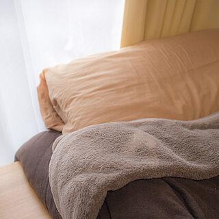 女性22歳の一人暮らし1K、無印のベッドに関するejrj_さんの実例写真