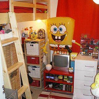 部屋全体/一人暮らし/Muji/IKEA/お部屋...などのインテリア実例 - 2015-05-26 00:50:59