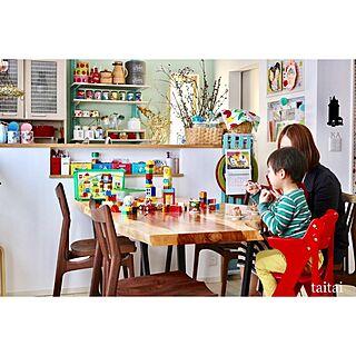 女性家族暮らし3LDK、duploに関するtaitaiさんの実例写真