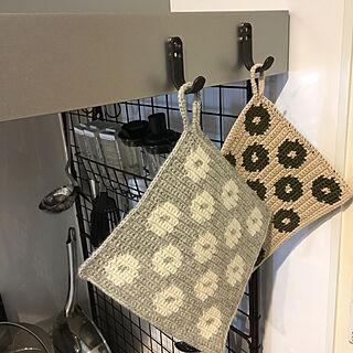 女性家族暮らし、キッチンマットはネットで購入に関するboku.jenny.myloveさんの実例写真