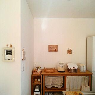 女性家族暮らし、モニター台に関するmayutan.さんの実例写真