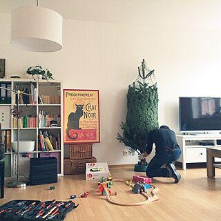 女性42歳の家族暮らし2LDK、ドイツのおもちゃに関するpompomさんの実例写真