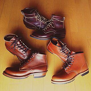 玄関/入り口/靴/ホワイツ/レッドウィングのインテリア実例 - 2013-03-23 14:00:28