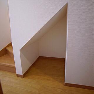 家族暮らし3LDK、階段下トイレに関するmagoさんの実例写真