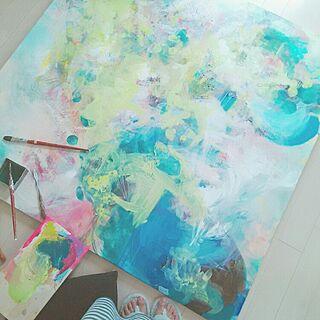 机/アート/作家もの/ART/作品...などのインテリア実例 - 2015-06-17 16:09:38