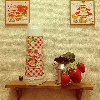 女性家族暮らし3LDK、ショートケーキに関するcocotakuさんの実例写真