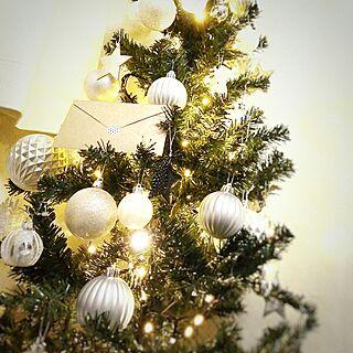 リビング/クリスマス/モノトーンに憧れて/白黒好き/モノトーン好き...などのインテリア実例 - 2016-12-21 19:04:31