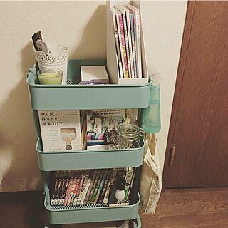 女性31歳の一人暮らし1K、図書館に関するYukoさんの実例写真