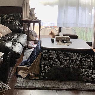 女性家族暮らし4LDK、ニトリの布団カバーは1℃暖かいに関するchikaさんの実例写真