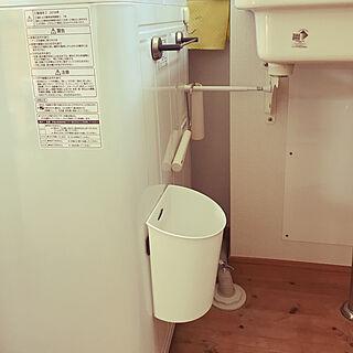 バス/トイレ/お掃除しやすく/ゴミ箱/セリア/いいね♡フォローありがとうございます♡のインテリア実例 - 2018-02-06 10:51:29