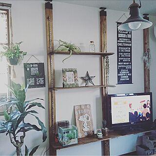 部屋全体/男前/DIY /2×4材/LABRICO...などのインテリア実例 - 2016-07-17 17:45:54