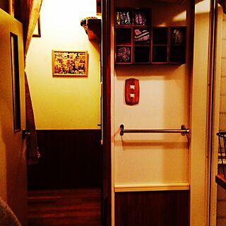 女性53歳の家族暮らし4LDK、扉は作ります(•̀௦•́)وに関するosuzuさんの実例写真