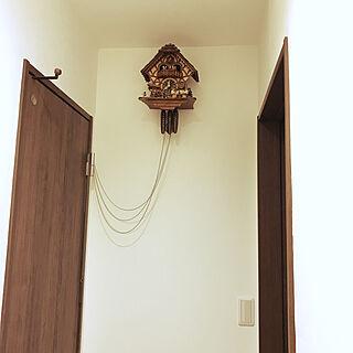 はと時計/RoomClipアンケート/壁/天井のインテリア実例 - 2020-02-19 17:30:17