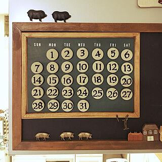 、カレンダー自作に関するromimaさんの実例写真