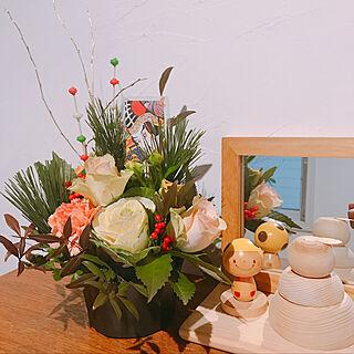 女性47歳の家族暮らし、すっきり空間に関するnarukuniheroさんの実例写真