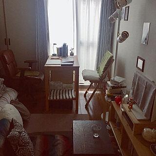 部屋全体/デスク/本/一人暮らし/椅子...などのインテリア実例 - 2018-07-07 10:29:35