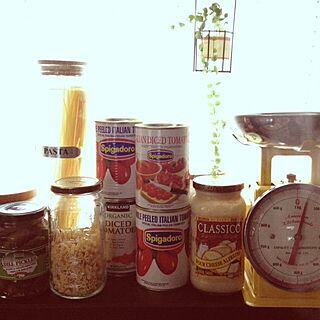 女性39歳の家族暮らし4LDK、パスタ缶に関するmami.さんの実例写真