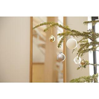 玄関/入り口/クリスマス/リノベーション/中古住宅/もみの木...などのインテリア実例 - 2018-12-25 07:40:14