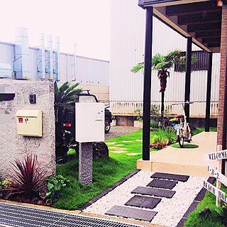 玄関/入り口/外構/COMBOモニター/宅配ボックス/Panasonic/パナソニック...などのインテリア実例 - 2016-06-13 13:18:21