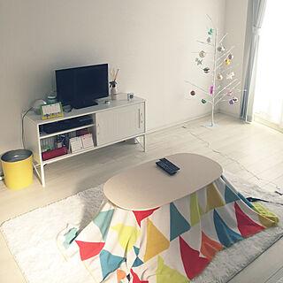 女性24歳の一人暮らし1K、生活感のある部屋に関するHaさんの実例写真